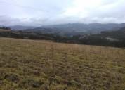 terreno en otavalo comunidad guanansi. con vista a la cotacachi y a el imbabura.