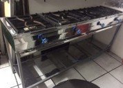 Cocina industrial 4 quemadores