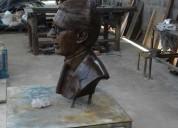 Bustos y esculturas en bronce
