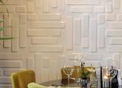 Venta de paneles decorativos 3d