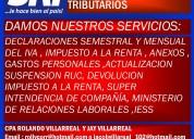 Servicios contables y tibutarios