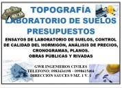 Topografo profesional en planimetria y altimetria