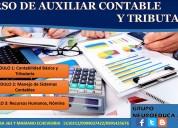 Curso de auxiliar contable y tributario, 100% prÁctico