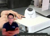 Curso de cctv, redes wireless, cableado estructurado y alarmas dsc.