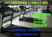 Servicio tÉcnico, repuestos de equipos de gimnasio
