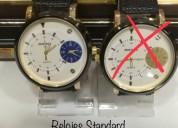 Hermosos relojes para mujer y hombre
