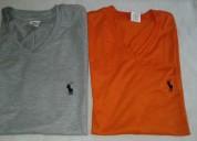 Camisetas de algodon peinado