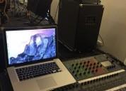alquiler de equipos de amplificación de sonido y música en vivo