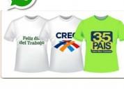 Camisetas para campañas política y otras