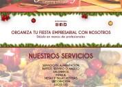 Empresa de catering y eventos