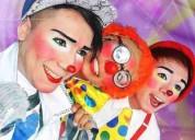Fiestas infantiles payasos, mimo, mago, inflables, hora loca, baby shower, $25 quito 0998771620..