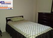 Se alquila departamento de dos dormitorios completamente amoblado con garaje para 1 vehiculo