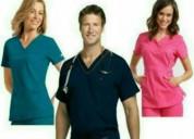 Empresa confecciona uniformes medicos.