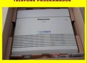 Central telefonica panasonic y telefono programador