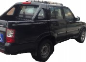 camioneta doble cabina musso sport, motor mercedez benz