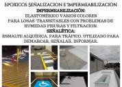Pintuarte - epoxicos, seÑalizaciÓn e impermeabilizaciÓn