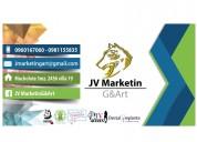 Rrpp  jvmarketing&art requiere contratar personal