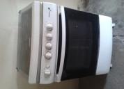 Vendo cocina durex 4 hornillas encendido electrico (horno a gas encendido manual en buen estado)