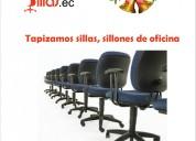 Tapizados de sillas de oficinas