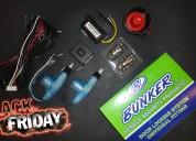 Promocion alarma bunker vip600 anti hijack + cierre centralizado 100$ instalada