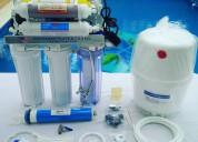 Instalación de Ósmosis inversa, mantenimiento, reparación, accesorios, asesoramiento