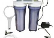 Cambio de filtros, reparación y mantenimiento, venta de ósmosis inversa, soluciones integrales