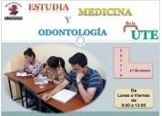 Estudia en la ute odontologÍa o medicina