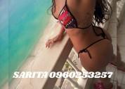 Sarita scort colombianita...ardiente y cariñosa... wassap: 0960253257