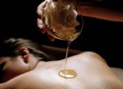 Un masaje sensual acaba en un placer