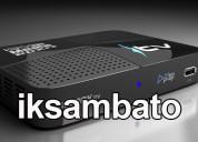 Cuentas iks ambato 250 canales satelital