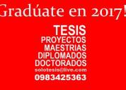 Apoyo academico profesional. pregrado y postgrado.