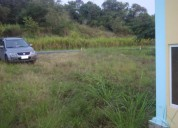 Vendo terreno de 250 metros cuadrados en la provincia de esmeraldas