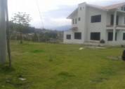 Se vende de oportunidad un terreno con casa sector chaullabamba