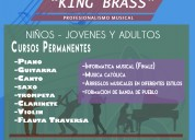 "Centro de arte  "" king brass"""