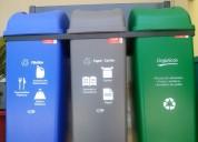 Tachos ecológicos para reciclaje