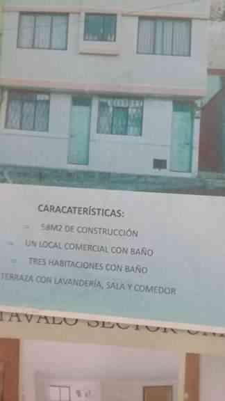 CASA EN EL COPACABANA OTAVALO...CON LOCAL COMERCIAL...70.000
