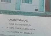 Casa en el copacabana con local comercial y tres cuartos
