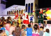 Animaciones navideñas, papa noel, hora loca, dj somos p-k-ñitos dancers
