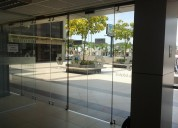 Puertas automáticas de vidrio templado
