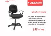 Sillas oficina liquidación