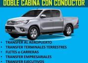 Alquiler de camionetas doble cabina:leer descripcion
