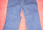 Pantalon jeans stretch de trabajo para damas talla 36