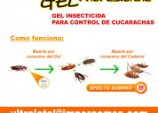 Gel control de plagas en tu hogar, oficina o local.