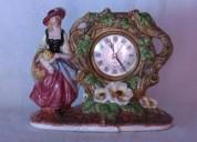 Reloj de porcelana japonesa antiguo