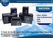 Baterias para ups y servicio tecnico para ups