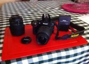 Vendo cÁmara profesional nikon dx-5100 +lente adicional 55-200 mm
