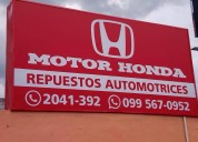 Honda venta de repuestos cumbaya linea directa