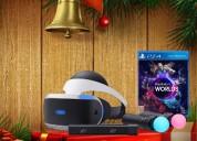 Playstation vr nuevo de paquete muy economico!