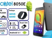 Alcatel a2xl 8050e camara 13mpx 8mpx selphie flash 100 nuevos