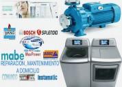 Reparacion+sangolquí lavadoras secadoras refrigeradoras0987063299_ bombas de agua reparaciónes